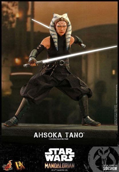Star Wars The Mandalorian Ahsoka Tano Hot Toys Actionfigur Scale 1/6