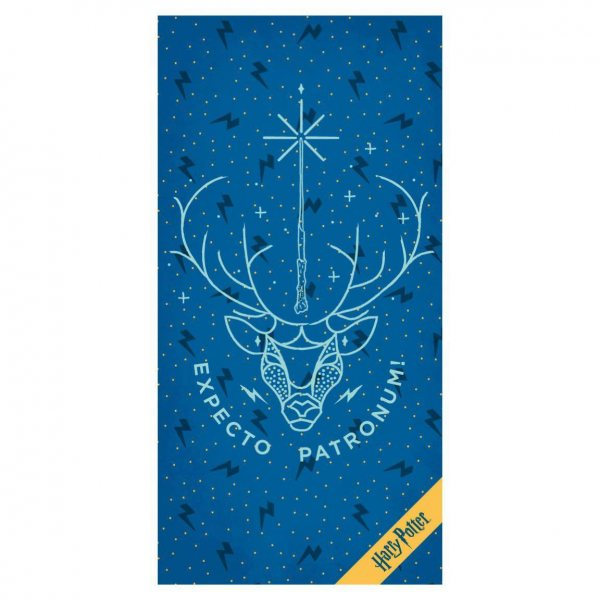 Harry Potter Expecto Patronum Badetuch