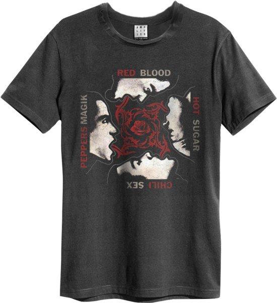 Amplified Red Hot Chilli Peppers Blood Magic Sugar Logo Herren T-Shirt