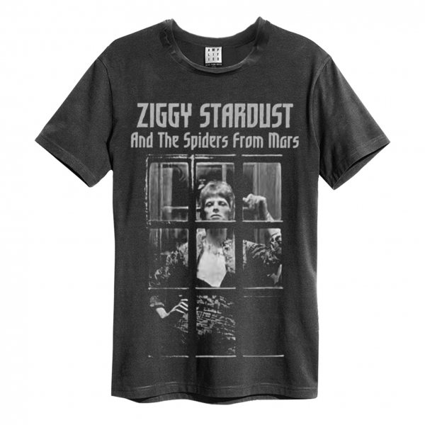Amplified David Bowie Ziggy Stardust T-Shirt Vintage Herren