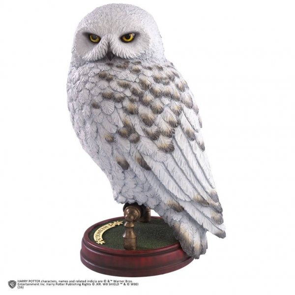 Harry Potter Hedwig Statue Figur Noble Collection Premium