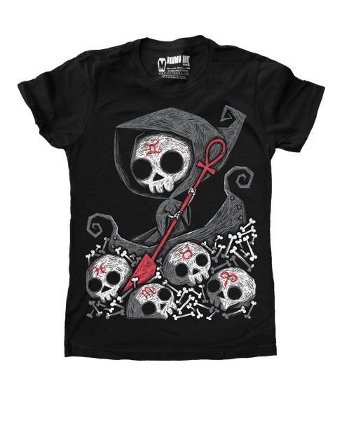 Akumu Ink River Man Damen T-Shirt