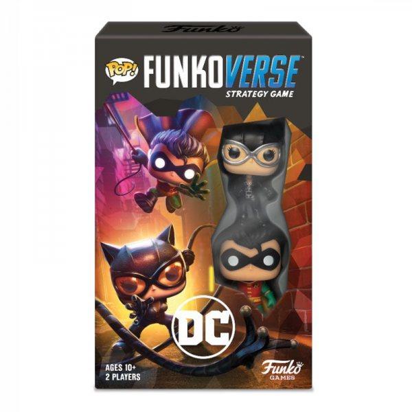 Funkoverse DC Comics Brettspiel Erweiterungs Set Funko Pop