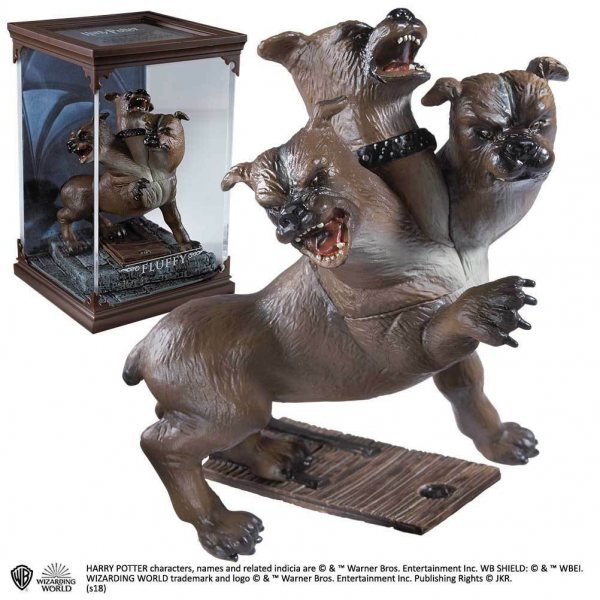 Harry Potter Fluffy Hund Statue Figur Noble Collection