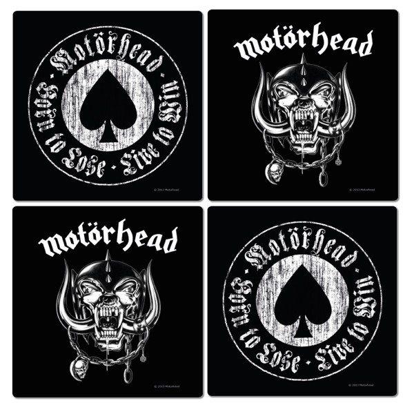 Motörhead Aces of Spade Logo Kork Untersetzer