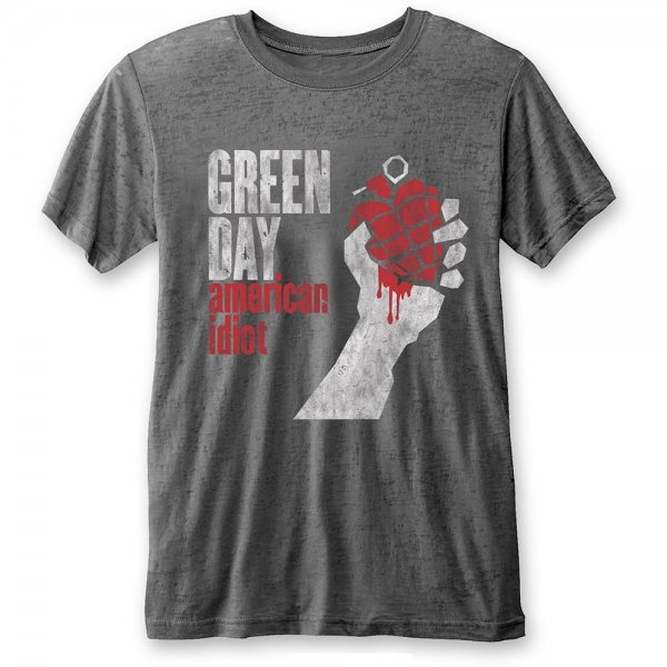 Rock Icon - Green Day Herren T-Shirt - American Idiot