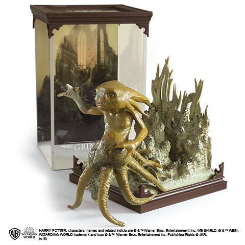 Harry Potter Grindylow Statue Figur Noble Collection