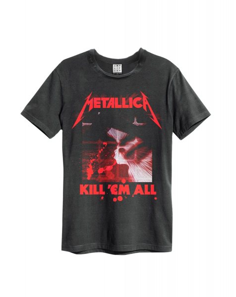 Amplified Metallica Kill them All T-Shirt