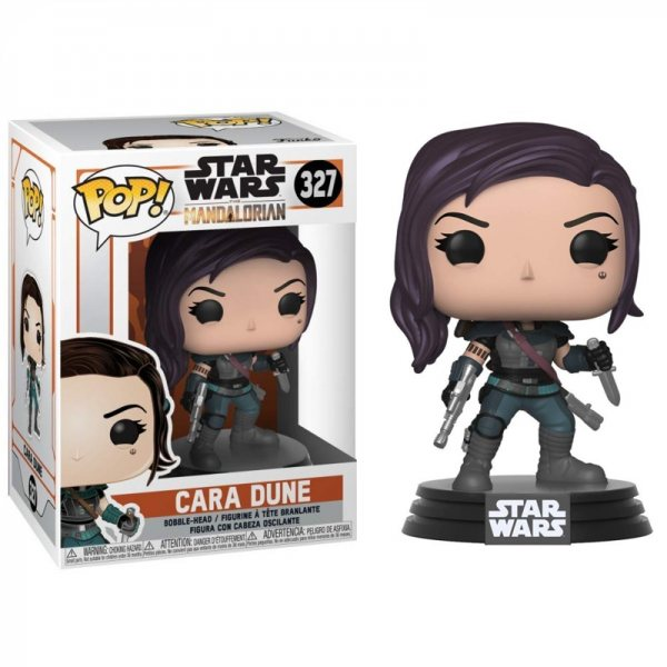 Star Wars The Mandalorian Cara Dune Funko Pop Vinyl Figur 327