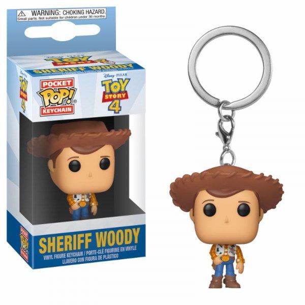 Toy Story 4 Sheriff Woody Funko Pocket Pop Schlüsselanhänger