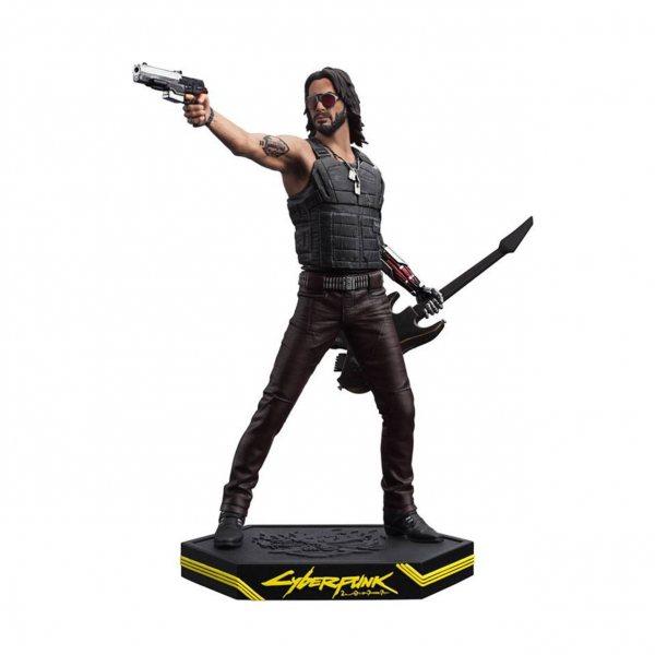 Cyberpunk 2077 Johnny Silverhand Darkhorse Statue Figur