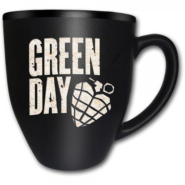 Green Day American Idiot Tasse Gravur