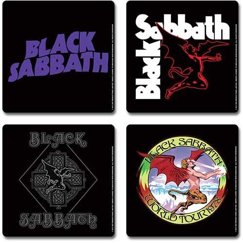 Black Sabbath Demon Untersetzer Set
