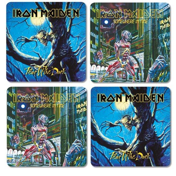 Iron Maiden - Untersetzer 4er Set - Logo