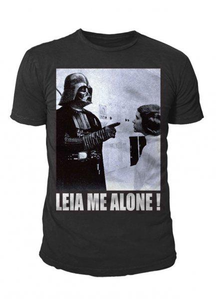 Star Wars - Krieg der Sterne Herren T-Shirt - Leia Me Alone