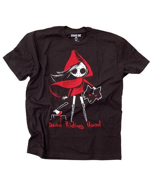 Akumu Ink Dead Riding Hood Rotkäppchen Herren T-Shirt