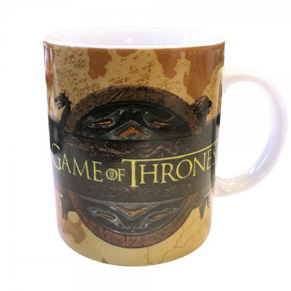 Game of Thrones Win or Die Keramik Kaffee Tasse