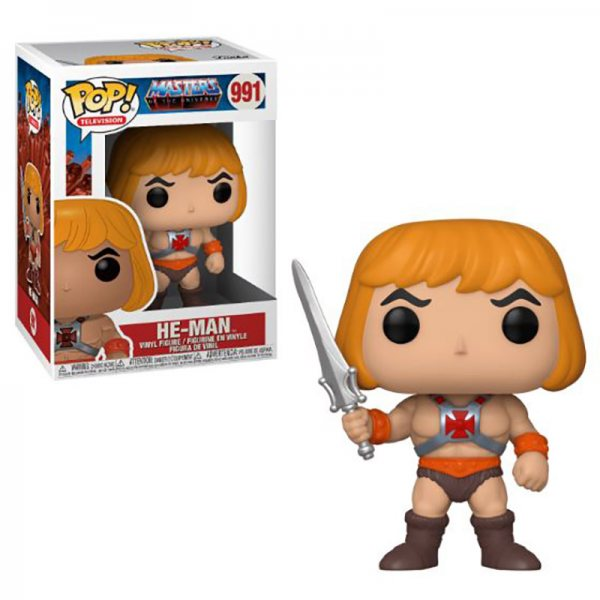 Masters of the Universe He Man Funko Pop Vinyl Figur 991