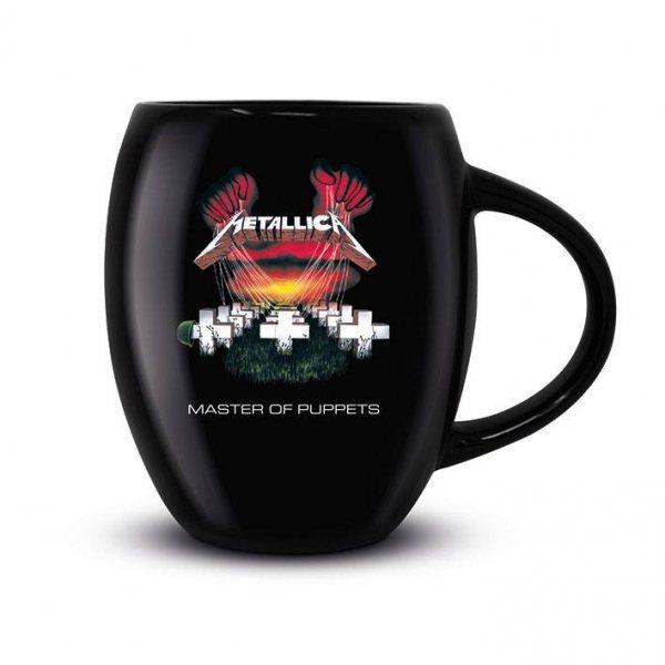 Metallica Master of Puppets Oval Matt Tasse in Geschenkbox