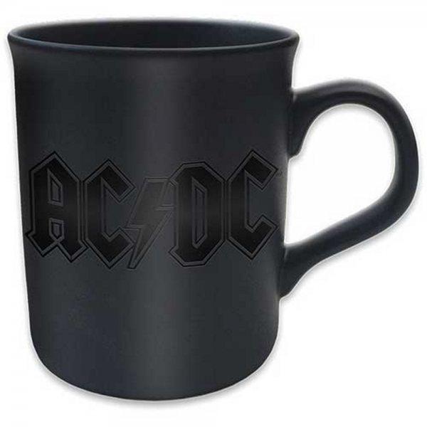 AC DC Keramik Tasse Matt Logo