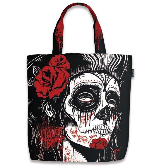 Liquor Brand Dead Girl Del Muerte Damen Shopper Tasche
