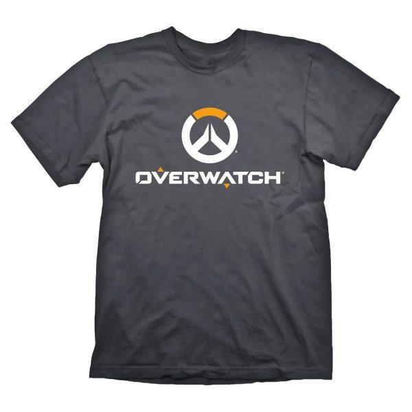 Overwatch Icons Logo Herren T-Shirt Grau