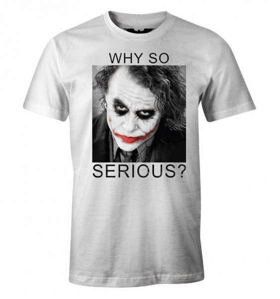 Joker Why so Serious Herren T-Shirt