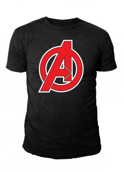 Marvel Comics - The Avengers Herren T-Shirt - Logo