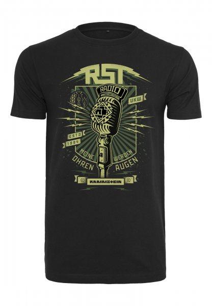 Rammstein Radio Logo Herren T-Shirt