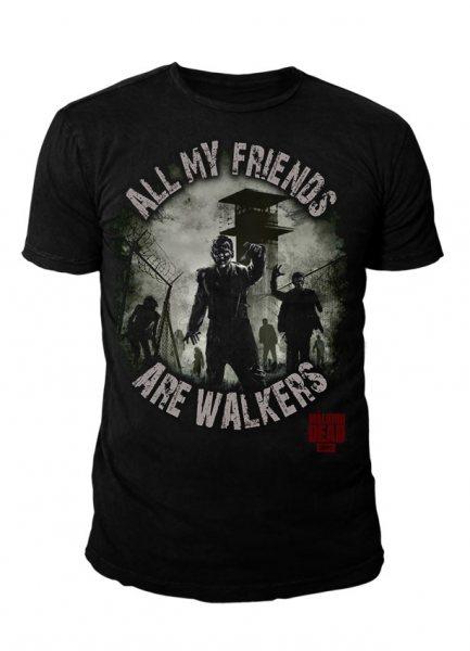 The Walking Dead - Herren T-Shirt - My Friends are Walker