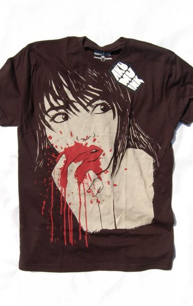 Akumu Ink Taste the Flash Vampire Herren T-Shirt