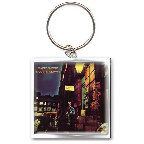 David Bowie Ziggy Stardust Schlüsselanhänger
