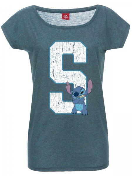 Lilo und Stitch 626 T-Shirt Damen Loose Fit Walt Disney