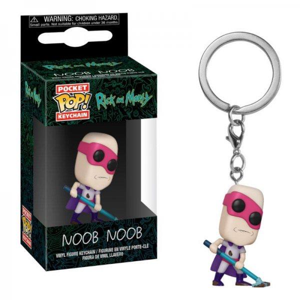 Rick and Morty Noob Noob Funko Pop Schlüsselanhänger