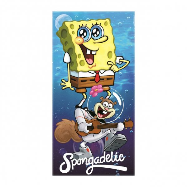 Sponge Bob Squarepants Spongadelic Badetuch Strandtuch