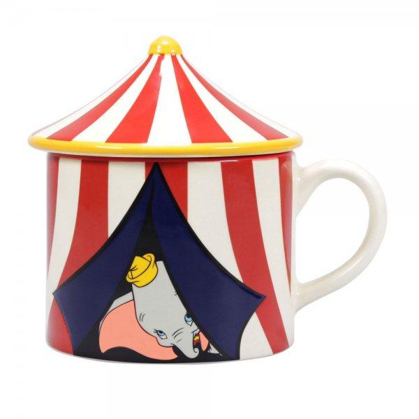 Walt Disneys Dumbo Keramik Relief Tasse im Geschenkkarton