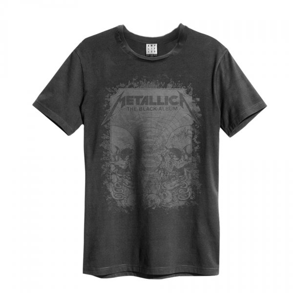 Amplified Metallica Black Album T-Shirt Vintage Herren