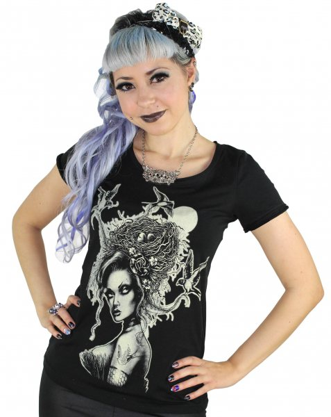 Too Fast Brand - Lover Brandages Tattoo Damen T-Shirt