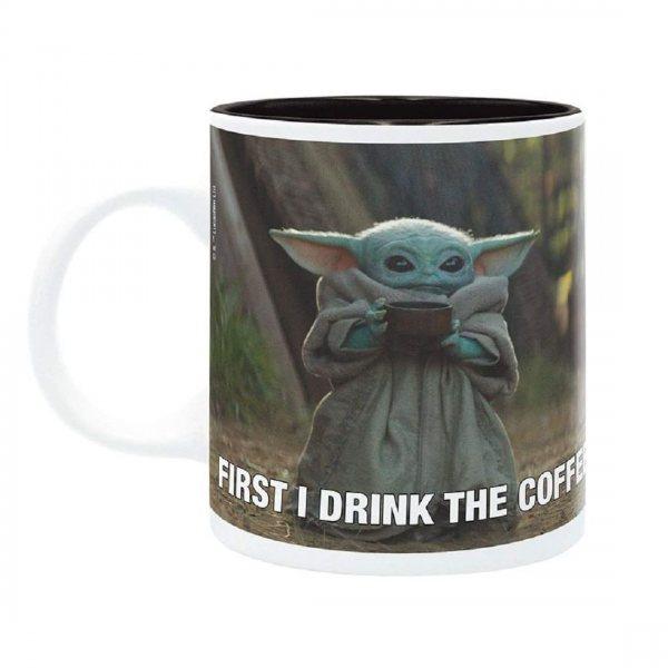 Star Wars The Mandalorian Baby Yoda Grogu Meme Tasse