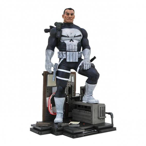 Marvel Comics Punisher Diorama Statue Figur Diamond Select