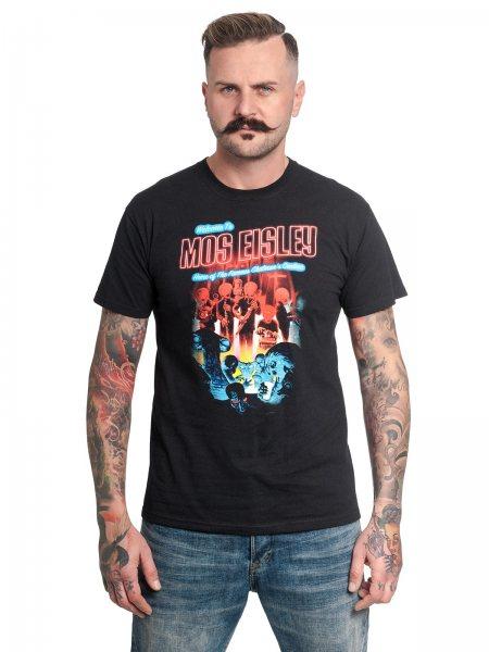 Star Wars Mos Eisley Cantina Band Neon Vintage Herren T-Shirt