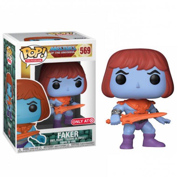 Masters of the Universe Faker Funko Pop Vinyl Figur 569