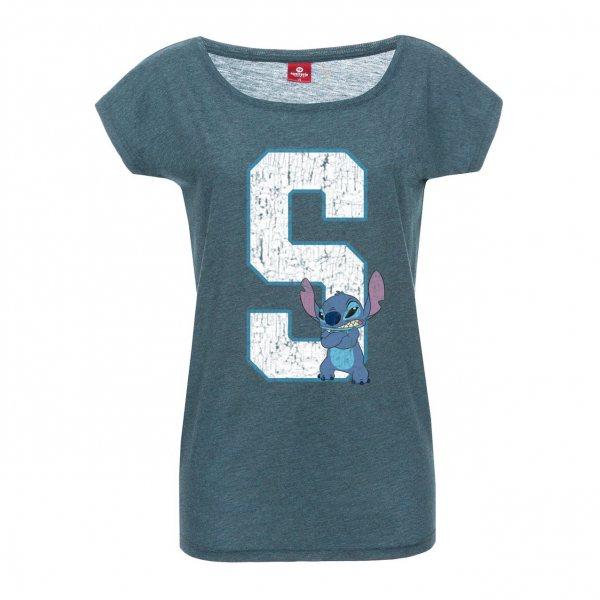Lilo und Stitch 626 T-Shirt Damen Loose Fit Walt Disney