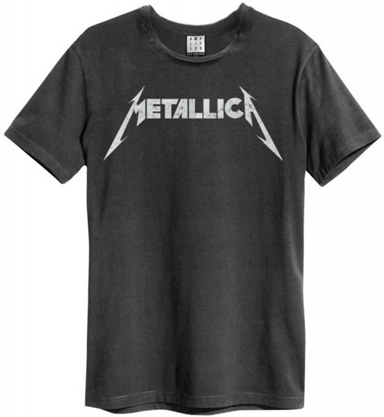 Amplified Metallica Logo Herren T-Shirt