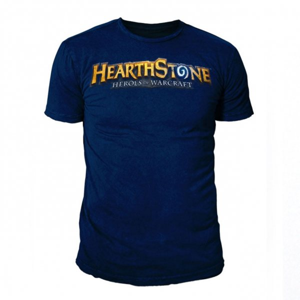 Hearthstone Heroes of Warcraft T-Shirt Navy