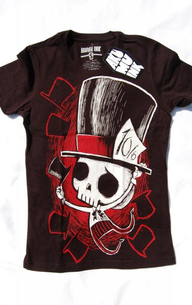 Akumu Ink Mad Hatter Damen T-Shirt