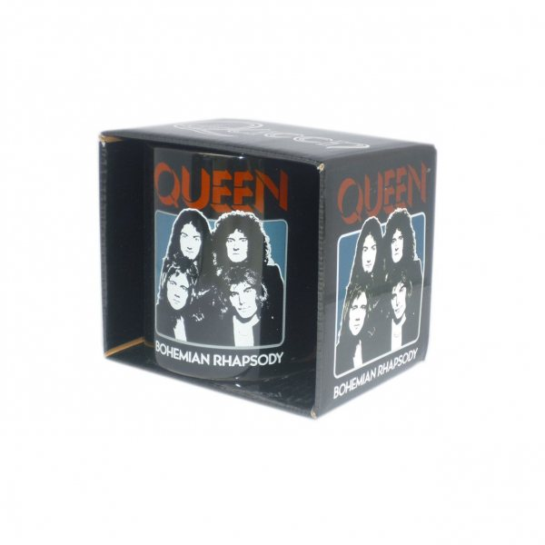 Queen Bohemian Rhapsody Tasse Becher im Geschenkkarton