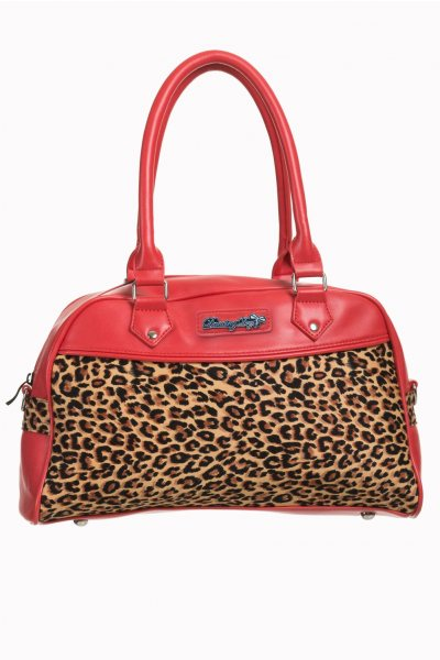 Banned Leopard Damen Henkeltasche