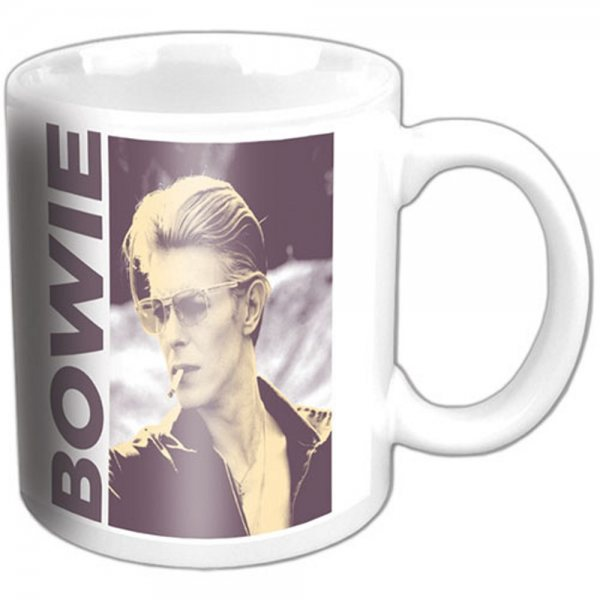 David Bowie Smoking Tasse