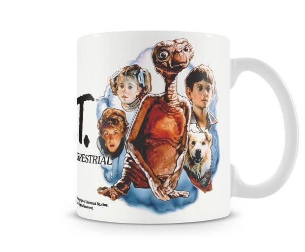 E.T. der Außerirdische Retro Poster Tasse